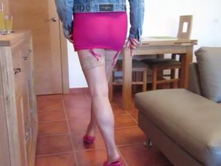 Hot Milf in Pink