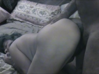 ASIAN WIFE WITH DILDO, THONGE AND COCK