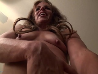 Sexy GILF with hungry cunt and hot body