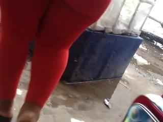 Culote de rojo en Mercado