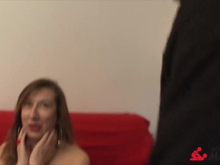 ScambistiMaturi - DP with cock and dildo..