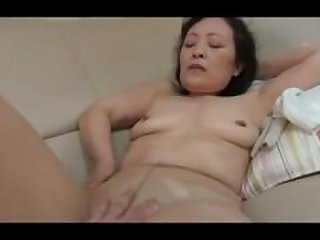 55 Year Old Asian Fuck Creampied & Squirts
